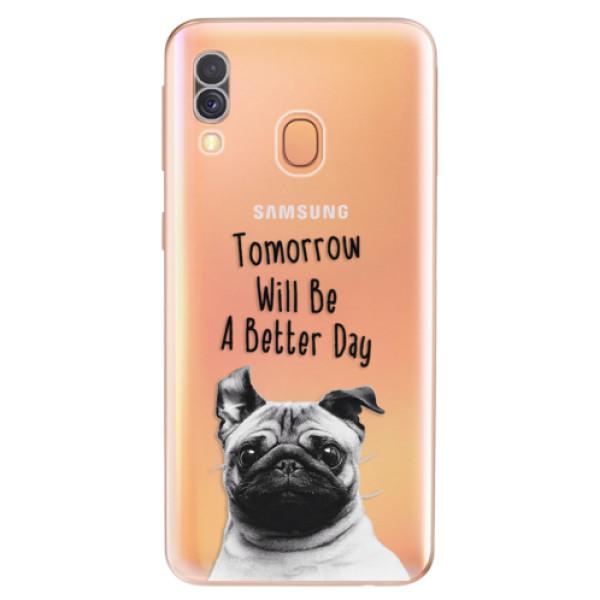 Odolné silikonové pouzdro iSaprio - Better Day 01 - Samsung Galaxy A40