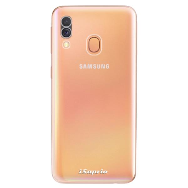 Odolné silikonové pouzdro iSaprio - 4Pure - mléčný bez potisku - Samsung Galaxy A40