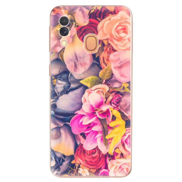 Odolné silikonové pouzdro iSaprio - Beauty Flowers - Samsung Galaxy A40
