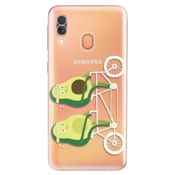 Odolné silikonové pouzdro iSaprio - Avocado - Samsung Galaxy A40