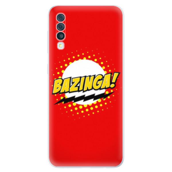 Odolné silikonové pouzdro iSaprio - Bazinga 01 - Samsung Galaxy A50