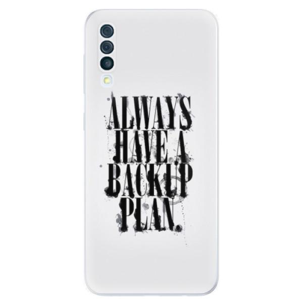 Odolné silikonové pouzdro iSaprio - Backup Plan - Samsung Galaxy A50