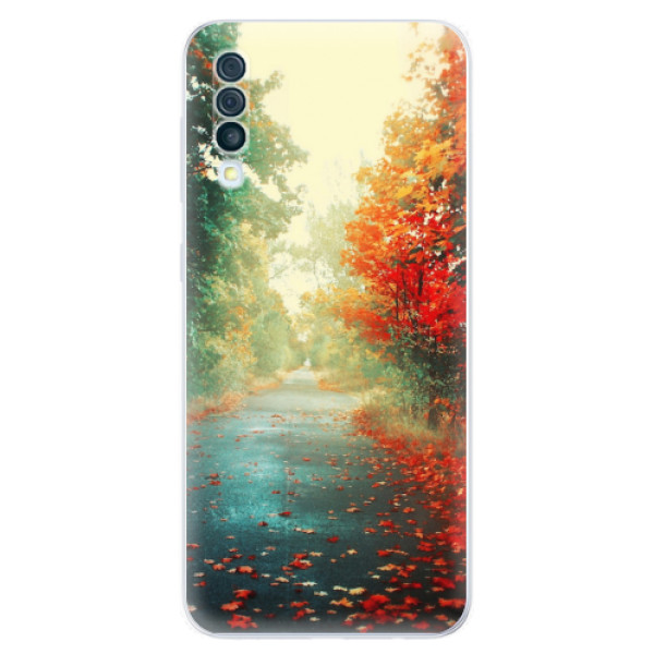 Odolné silikonové pouzdro iSaprio - Autumn 03 - Samsung Galaxy A50