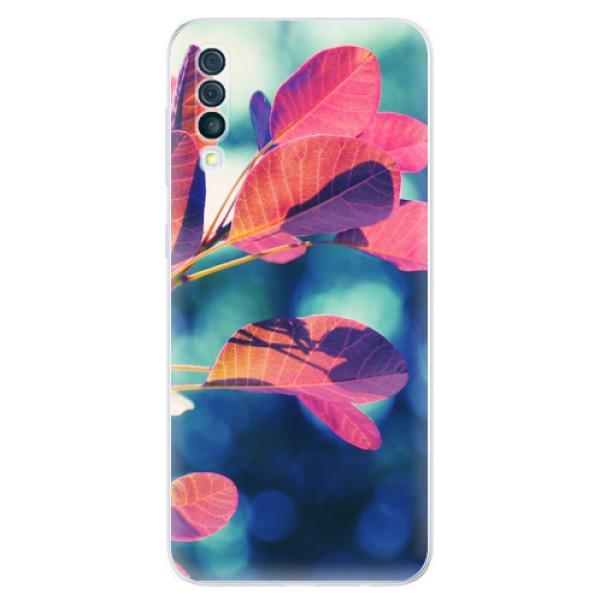 Odolné silikonové pouzdro iSaprio - Autumn 01 - Samsung Galaxy A50