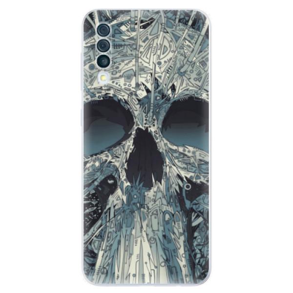 Odolné silikonové pouzdro iSaprio - Abstract Skull - Samsung Galaxy A50