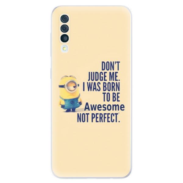 Odolné silikonové pouzdro iSaprio - Be Awesome - Samsung Galaxy A50