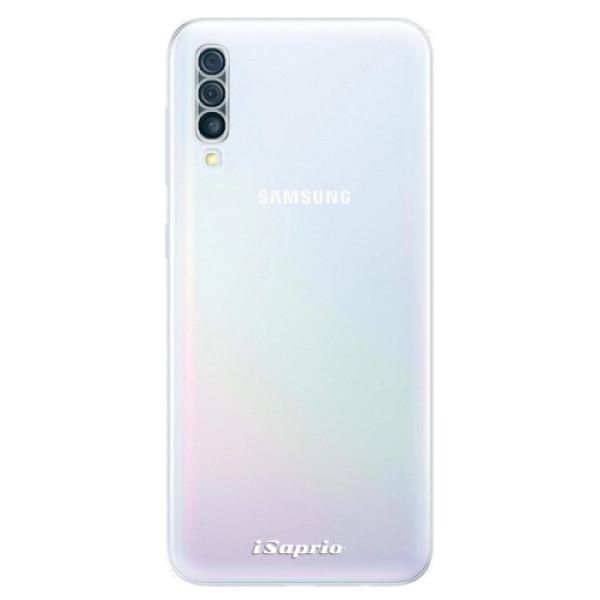 Odolné silikonové pouzdro iSaprio - 4Pure - mléčný bez potisku - Samsung Galaxy A50