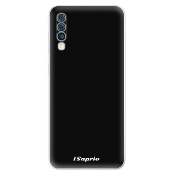 Odolné silikonové pouzdro iSaprio - 4Pure - černý - Samsung Galaxy A50