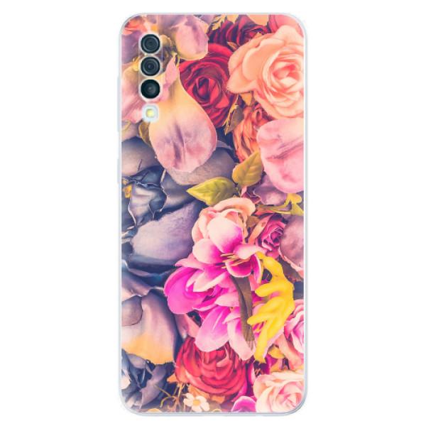 Odolné silikonové pouzdro iSaprio - Beauty Flowers - Samsung Galaxy A50