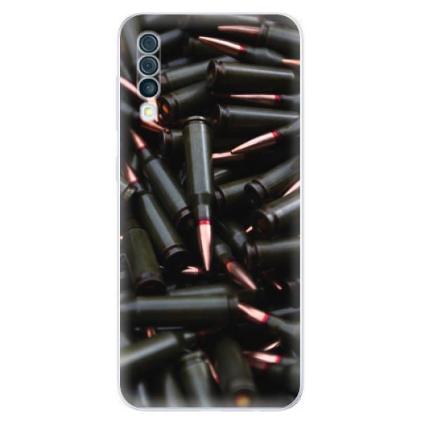 Odolné silikonové pouzdro iSaprio - Black Bullet - Samsung Galaxy A50