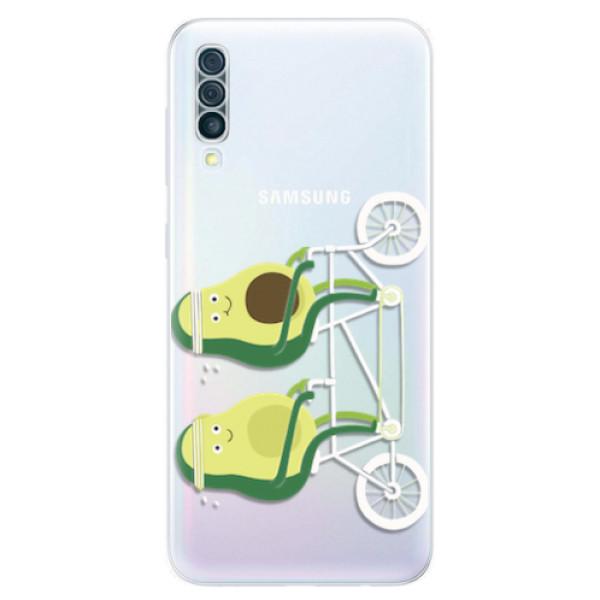 Odolné silikonové pouzdro iSaprio - Avocado - Samsung Galaxy A50