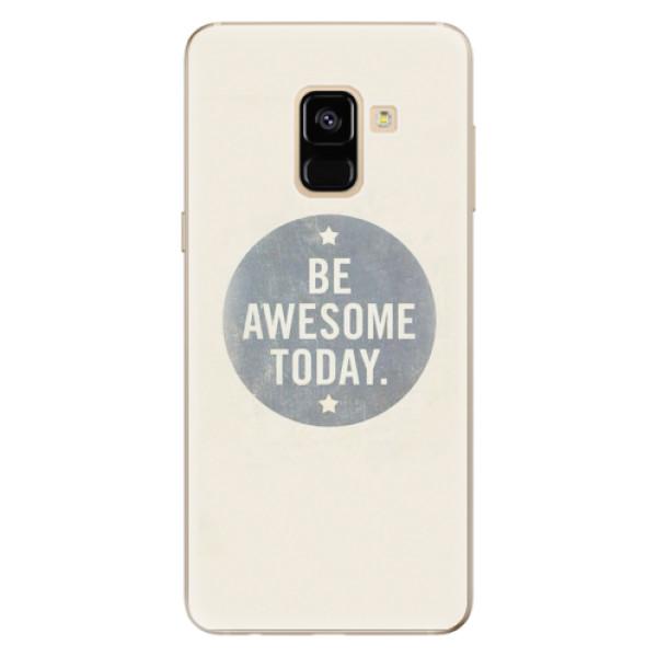 Odolné silikonové pouzdro iSaprio - Awesome 02 - Samsung Galaxy A8 2018