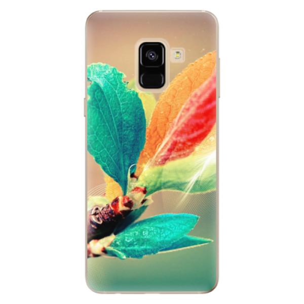 Odolné silikonové pouzdro iSaprio - Autumn 02 - Samsung Galaxy A8 2018
