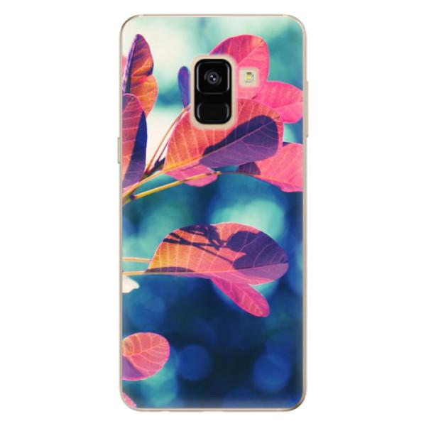 Odolné silikonové pouzdro iSaprio - Autumn 01 - Samsung Galaxy A8 2018