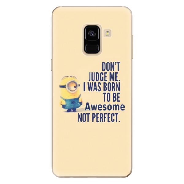 Odolné silikonové pouzdro iSaprio - Be Awesome - Samsung Galaxy A8 2018
