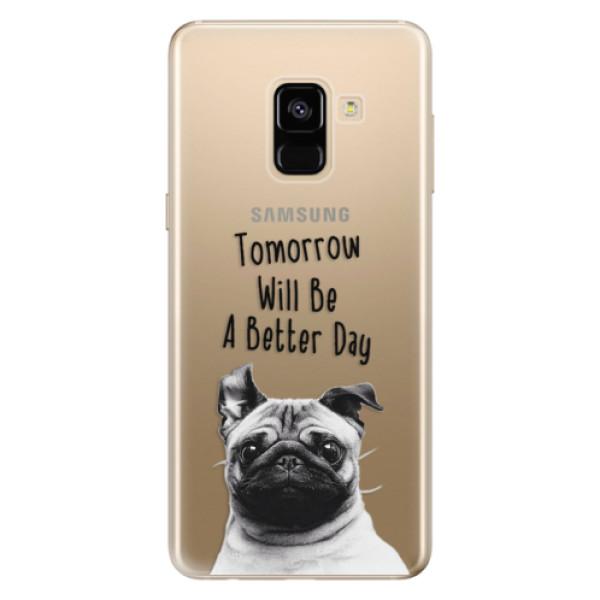 Odolné silikonové pouzdro iSaprio - Better Day 01 - Samsung Galaxy A8 2018