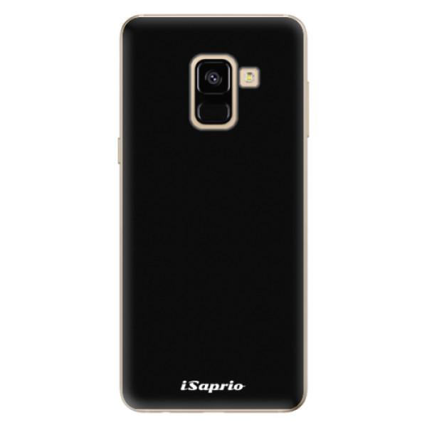 Odolné silikonové pouzdro iSaprio - 4Pure - černý - Samsung Galaxy A8 2018