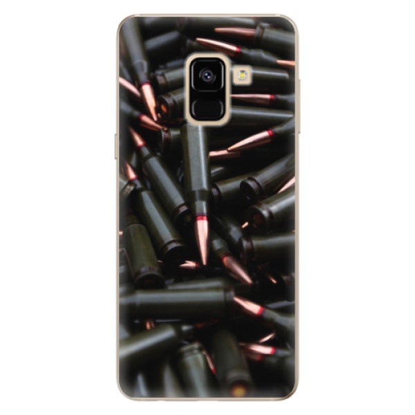 Odolné silikonové pouzdro iSaprio - Black Bullet - Samsung Galaxy A8 2018