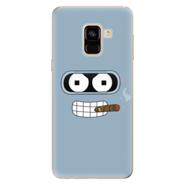 Odolné silikonové pouzdro iSaprio - Bender - Samsung Galaxy A8 2018