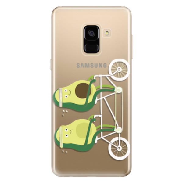 Odolné silikonové pouzdro iSaprio - Avocado - Samsung Galaxy A8 2018