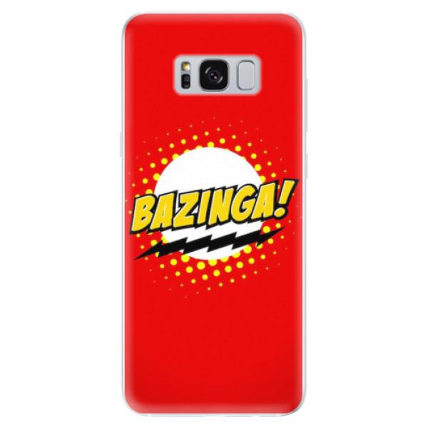 Odolné silikonové pouzdro iSaprio - Bazinga 01 - Samsung Galaxy S8