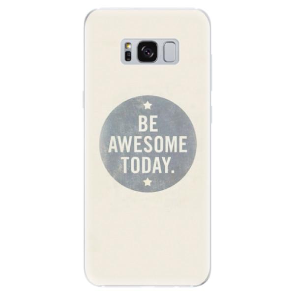 Odolné silikonové pouzdro iSaprio - Awesome 02 - Samsung Galaxy S8