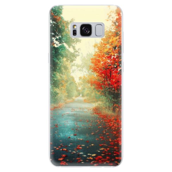 Odolné silikonové pouzdro iSaprio - Autumn 03 - Samsung Galaxy S8