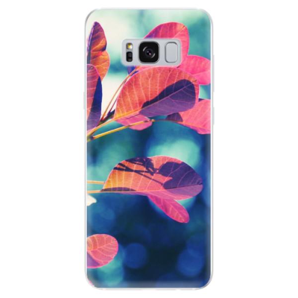 Odolné silikonové pouzdro iSaprio - Autumn 01 - Samsung Galaxy S8