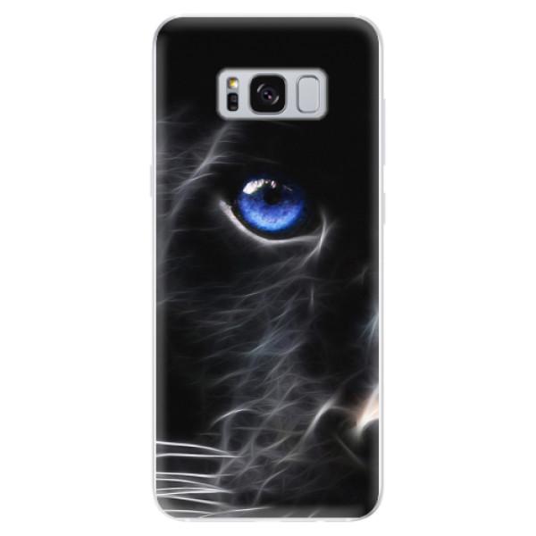 Odolné silikonové pouzdro iSaprio - Black Puma - Samsung Galaxy S8