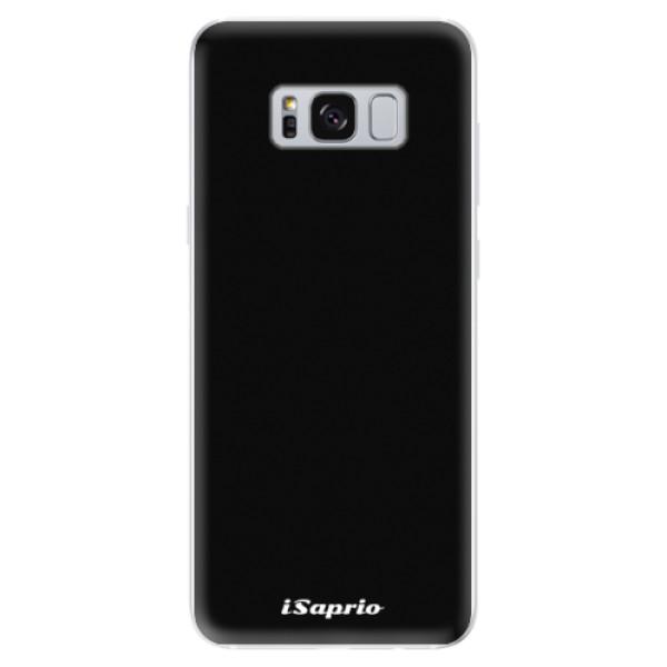 Odolné silikonové pouzdro iSaprio - 4Pure - černý - Samsung Galaxy S8