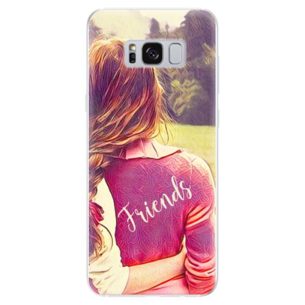 Odolné silikonové pouzdro iSaprio - BF Friends - Samsung Galaxy S8