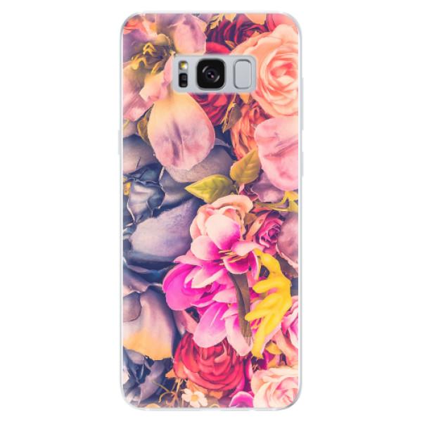 Odolné silikonové pouzdro iSaprio - Beauty Flowers - Samsung Galaxy S8