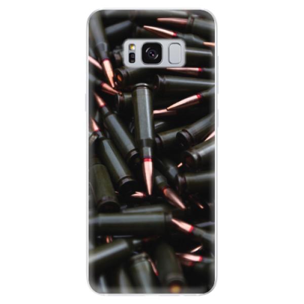 Odolné silikonové pouzdro iSaprio - Black Bullet - Samsung Galaxy S8
