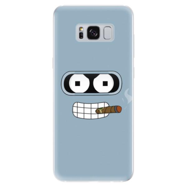 Odolné silikonové pouzdro iSaprio - Bender - Samsung Galaxy S8