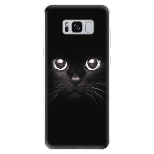 Odolné silikonové pouzdro iSaprio - Black Cat - Samsung Galaxy S8
