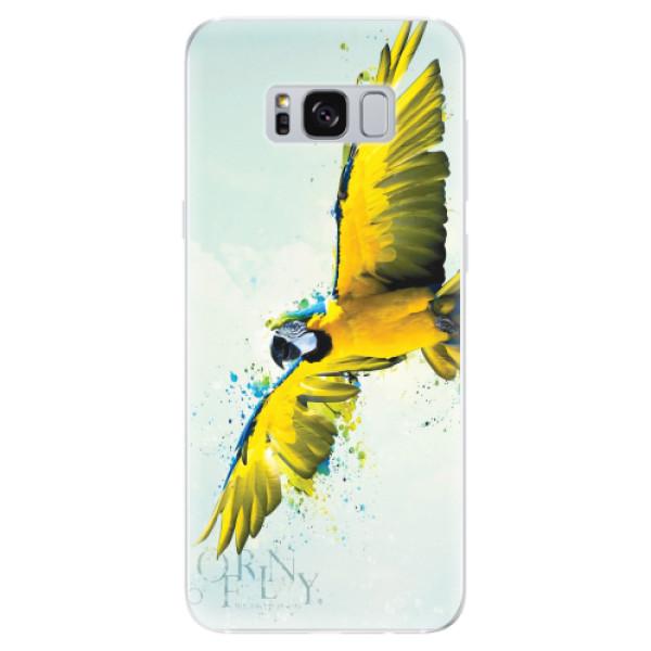 Odolné silikonové pouzdro iSaprio - Born to Fly - Samsung Galaxy S8