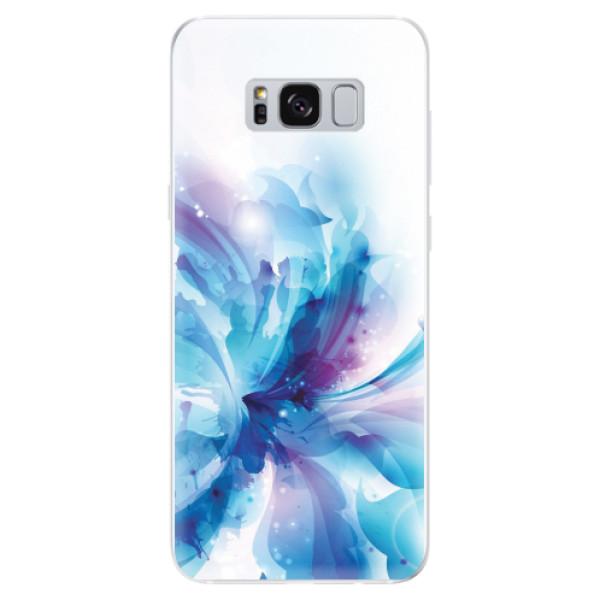 Odolné silikonové pouzdro iSaprio - Abstract Flower - Samsung Galaxy S8