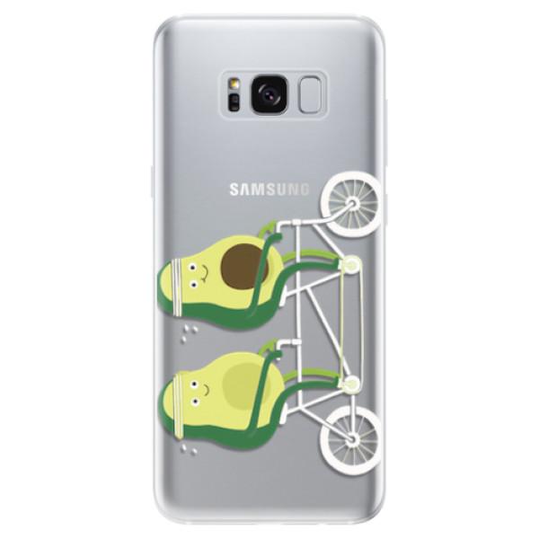 Odolné silikonové pouzdro iSaprio - Avocado - Samsung Galaxy S8
