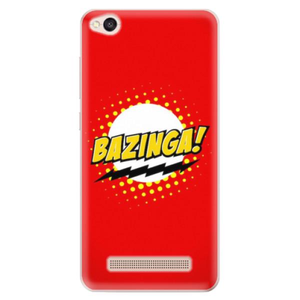Odolné silikonové pouzdro iSaprio - Bazinga 01 - Xiaomi Redmi 4A