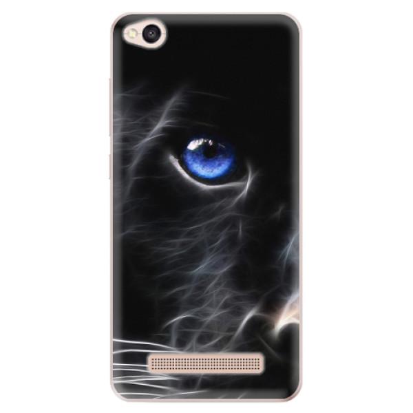 Odolné silikonové pouzdro iSaprio - Black Puma - Xiaomi Redmi 4A