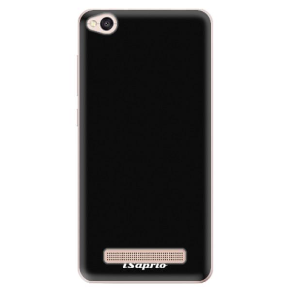 Odolné silikonové pouzdro iSaprio - 4Pure - černý - Xiaomi Redmi 4A