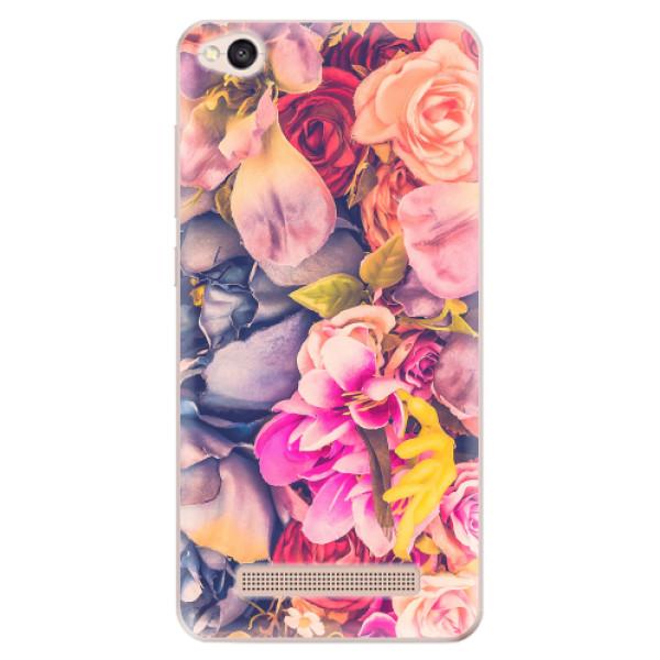 Odolné silikonové pouzdro iSaprio - Beauty Flowers - Xiaomi Redmi 4A