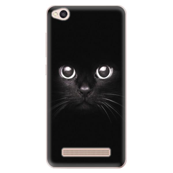 Odolné silikonové pouzdro iSaprio - Black Cat - Xiaomi Redmi 4A