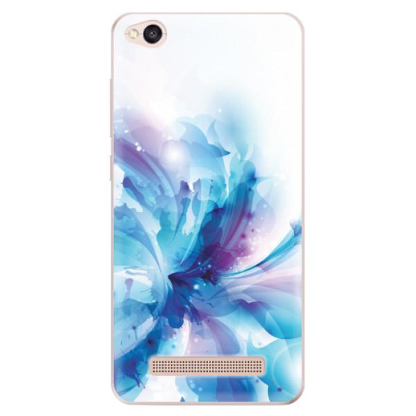Odolné silikonové pouzdro iSaprio - Abstract Flower - Xiaomi Redmi 4A