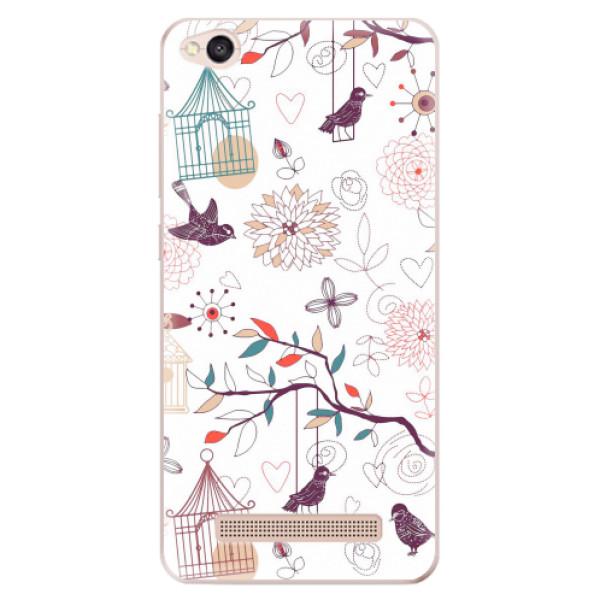 Odolné silikonové pouzdro iSaprio - Birds - Xiaomi Redmi 4A