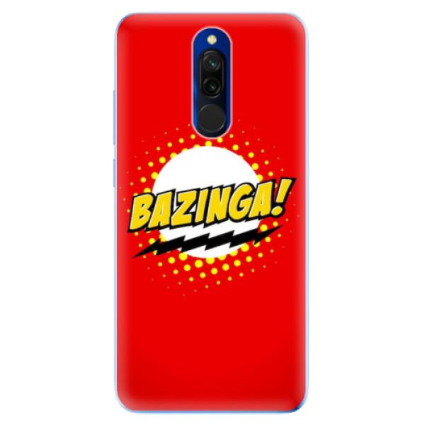 Odolné silikonové pouzdro iSaprio - Bazinga 01 - Xiaomi Redmi 8
