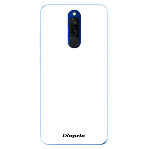 Odolné silikonové pouzdro iSaprio - 4Pure - bílý - Xiaomi Redmi 8