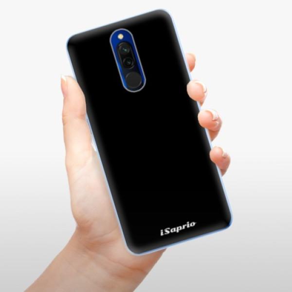Odolné silikonové pouzdro iSaprio - 4Pure - černý - Xiaomi Redmi 8