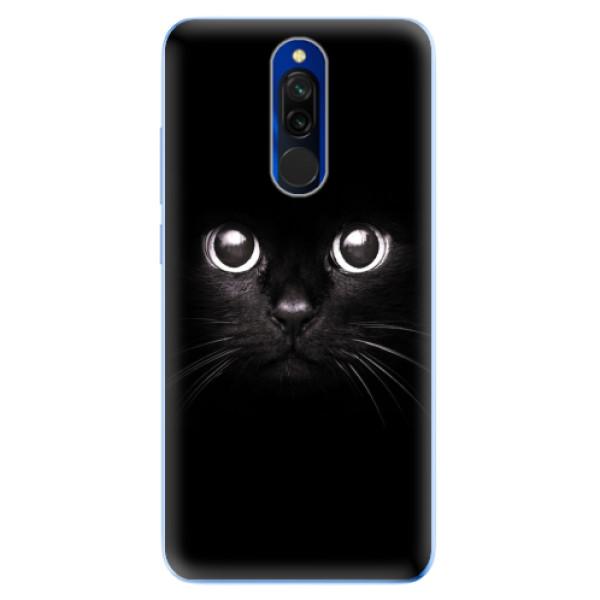 Odolné silikonové pouzdro iSaprio - Black Cat - Xiaomi Redmi 8