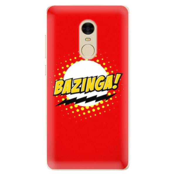 Odolné silikonové pouzdro iSaprio - Bazinga 01 - Xiaomi Redmi Note 4